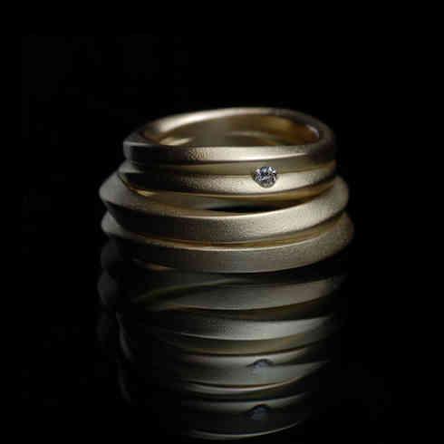 Weddingrings | gold, diamond