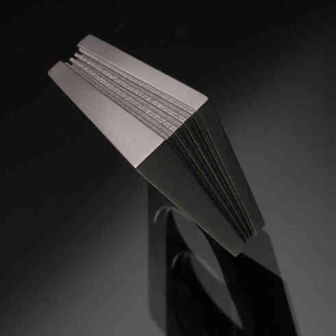Ring | in Memory | 3D printed titanium