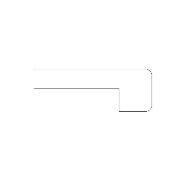 E) Nosing for hardwood Profile