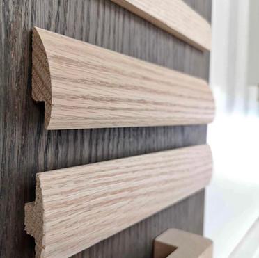 Oak Reducer & T-Moulding
