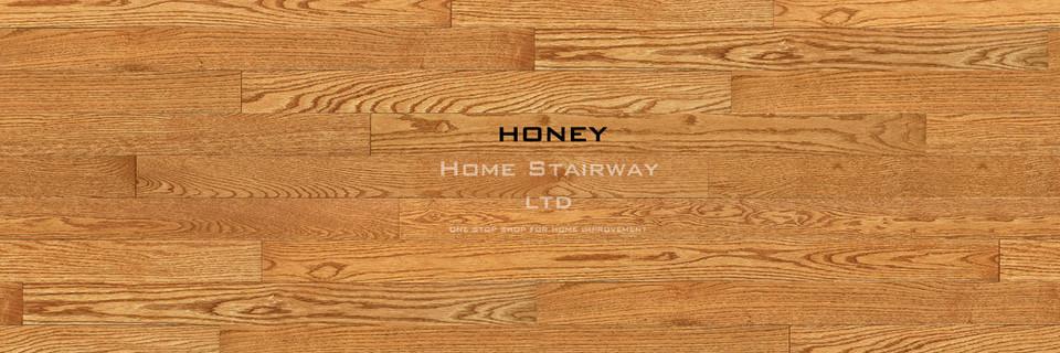 Home Stairway- signature oak- Honey