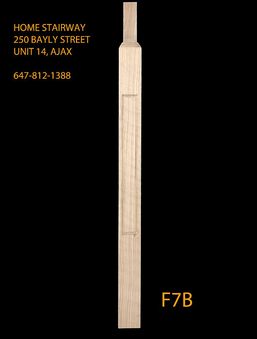 F7B- Bullnose window post