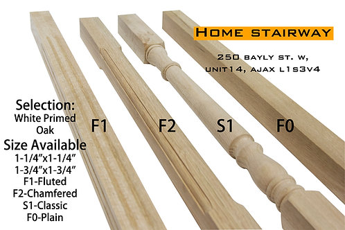 """Wooden Spindle 1-1/4""""x1-1/4"""""""