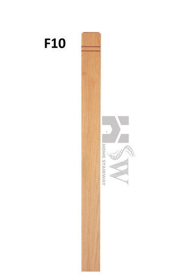 F10- Modern double groove post