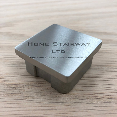 Square end cap- (40mmx40mm) SS316