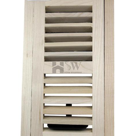 4x10 Maple floor vent flush mount