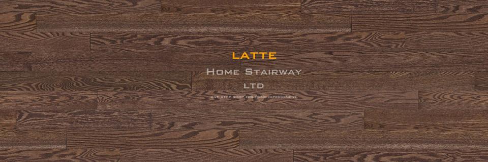 Home Stairway- signature oak- Latte