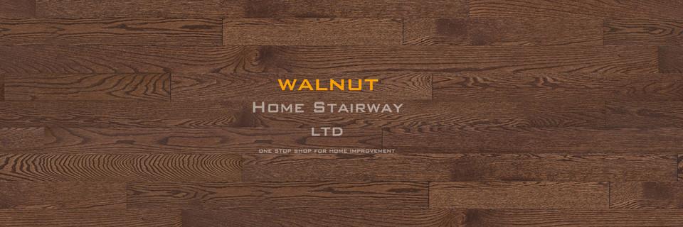 Home Stairway- signature oak- Walnut