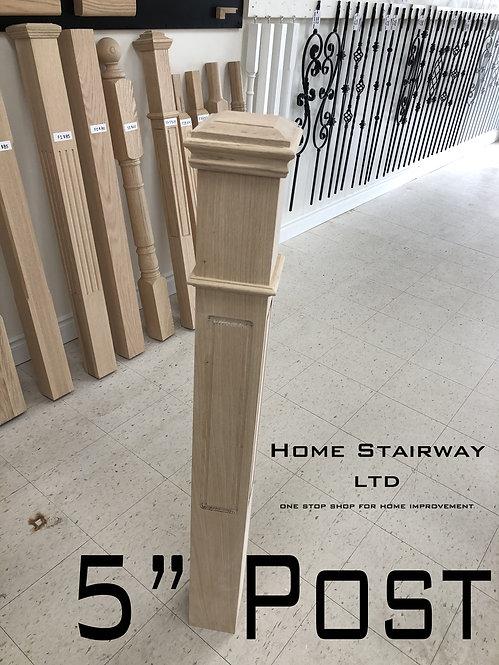 "5"" Window post"