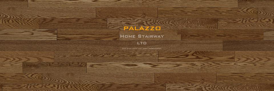 Home Stairway- signature oak- Palazzo