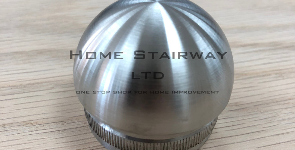 Dome end cap (42.4) SS316