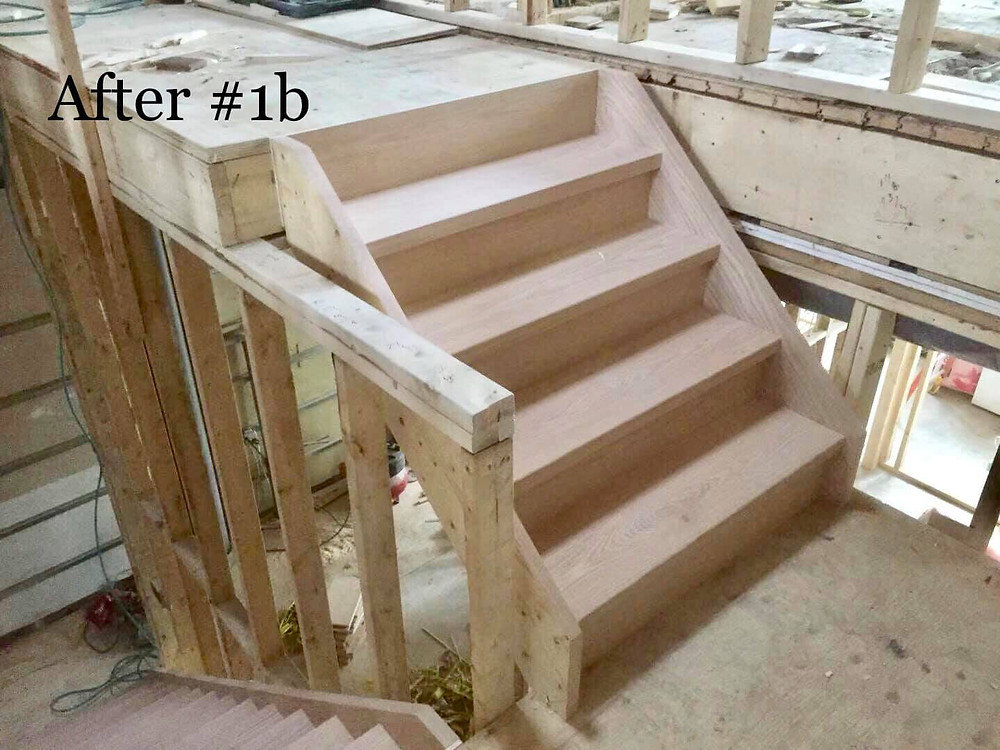Box stairs, unfinished  | Home Stairway