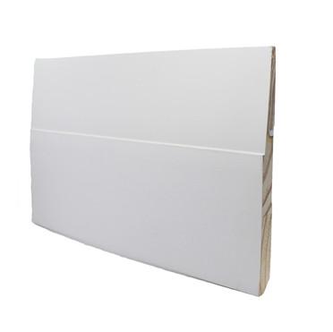 Step bevel baseboard (wood)
