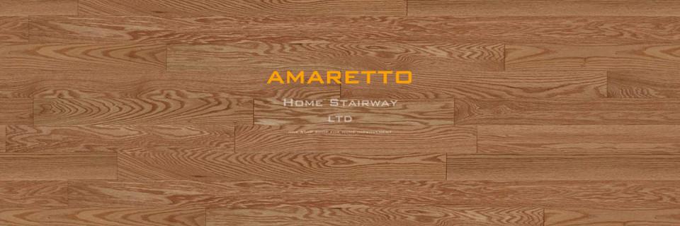 Home Stairway- signature oak- Amaretto