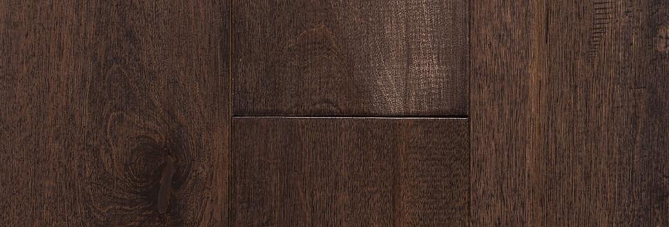 Solid Maple- Prefinished- Walnut