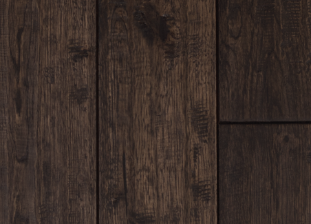 Solid White Oak- Prefinished- Ebony