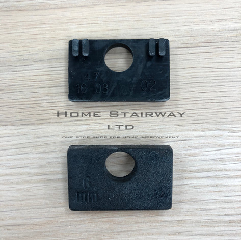 Gasket/ rubber- Glass clip