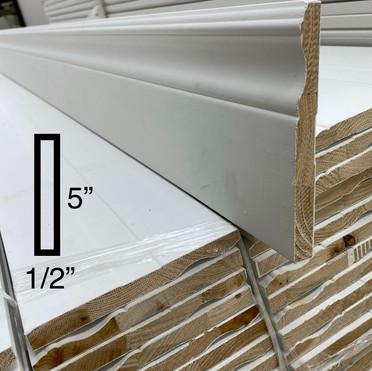 "5"" Colonial baseboard (wood)"