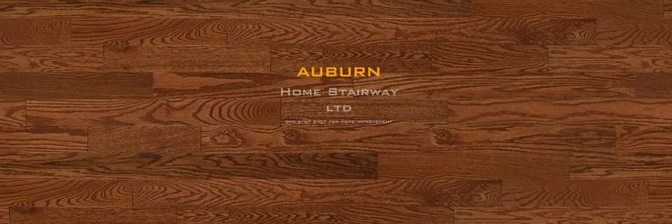 Home Stairway- signature oak- Auburn