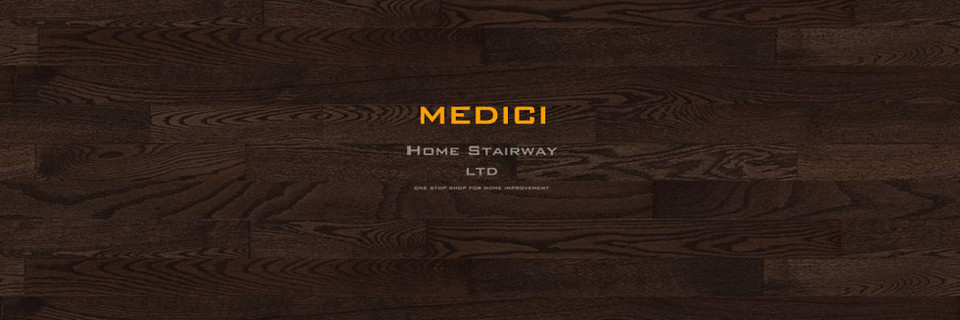 Home Stairway- signature oak- Medici