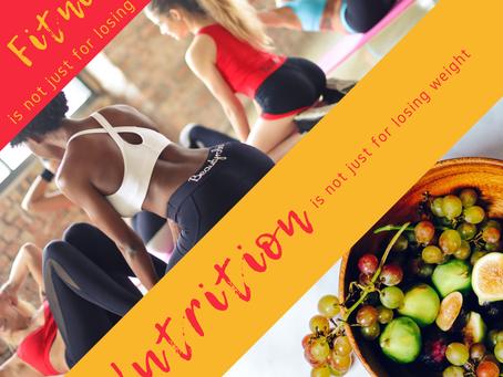 Fitness-ul si Nutritia nu sunt doar pentru slabit!