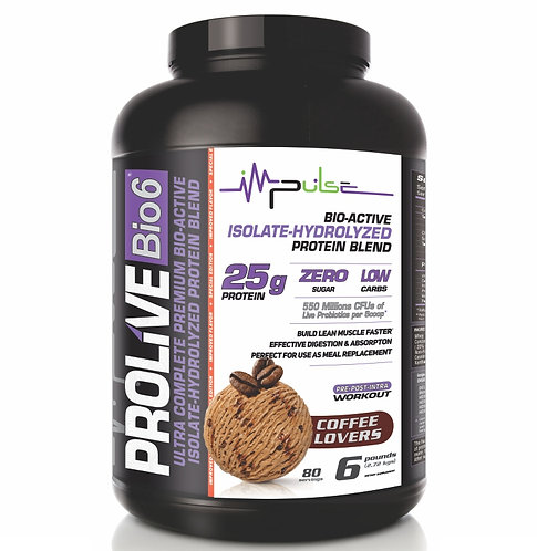 PROLIVE BIO5  PROTEIN CAFFE LOVERS