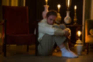 Christopher Thomas, RSDT Production Shot 'In Light of Those You Love' 2017, Nicole Guarino Photography, The Salon, White Lodge