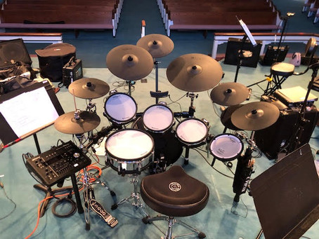 Now that's a drum set!  a simple thought about collaboration