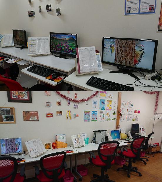 教室内部は異常ありません。
