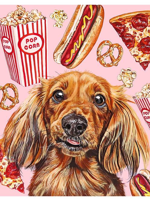 Daft Doggo Print (8 x 10)