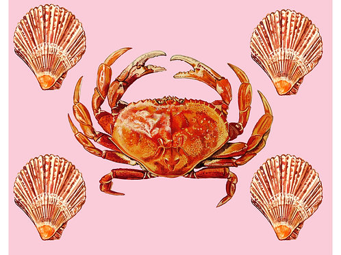 Crabby Lad Print (8 x 10)