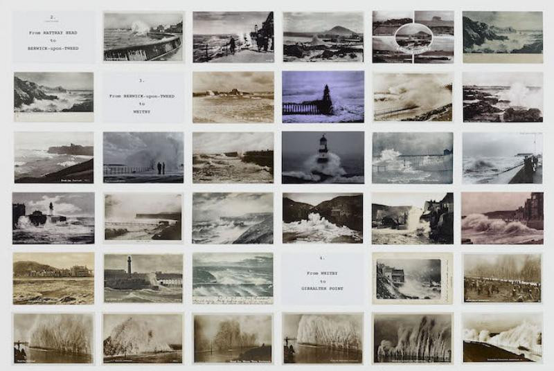 On the edge - Susan Hiller