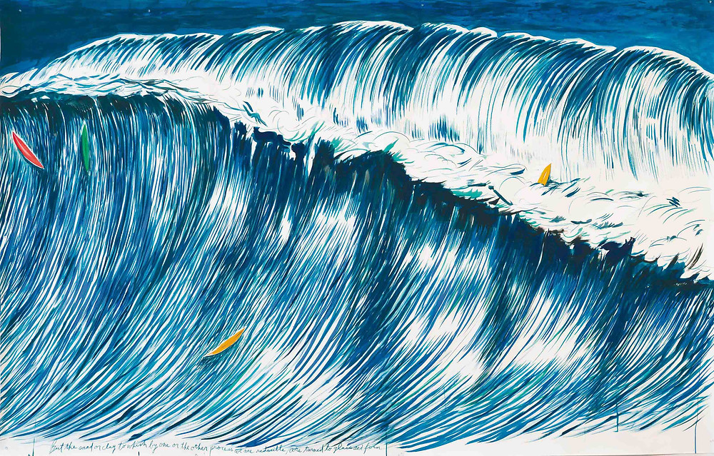 No title (But the sand...) - Raymond Pettibon