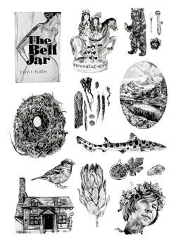 Inktober print