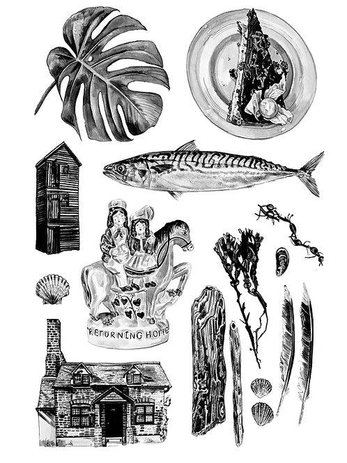 'Hastings' Print