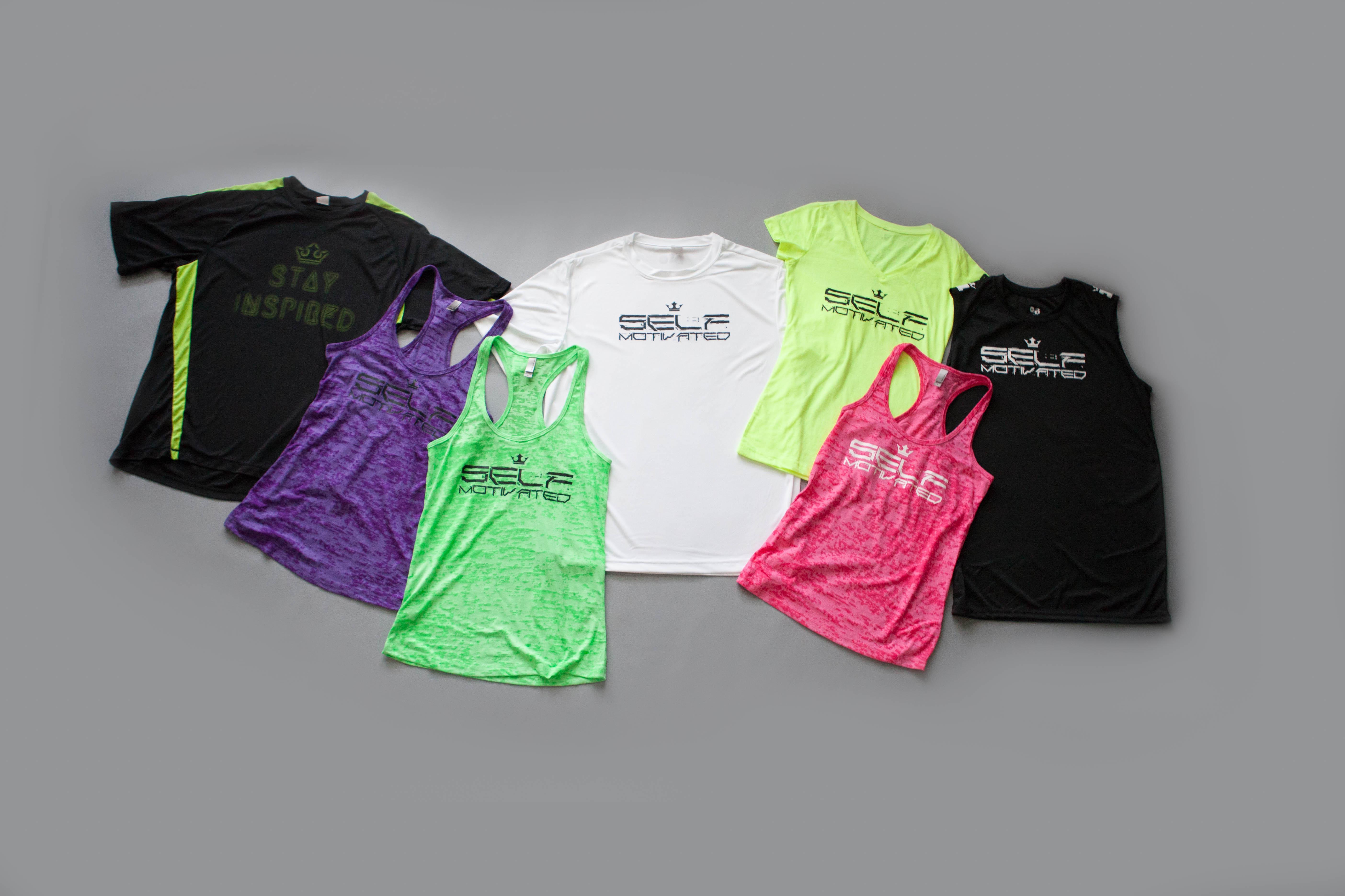 BiO motivational workout shirts