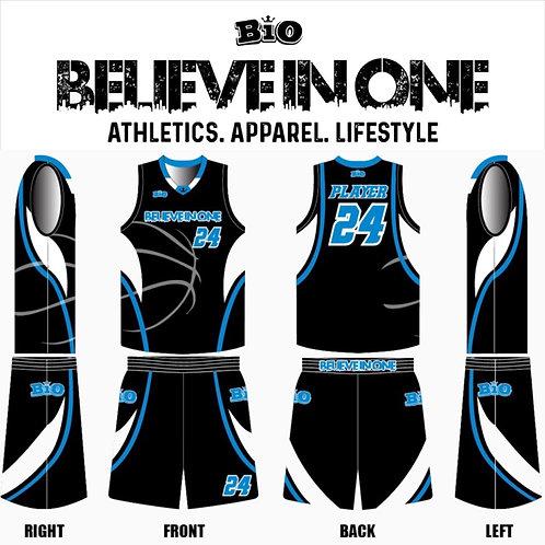 2019-20 BiO Basketball Uniform (Black)