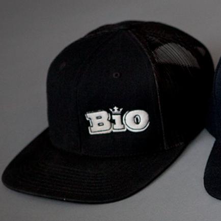BiO Logo Meshback Snapback