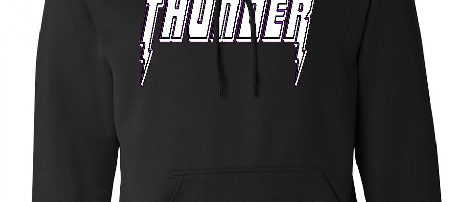 VALLEY THUNDER Cotton/Poly Hoodie
