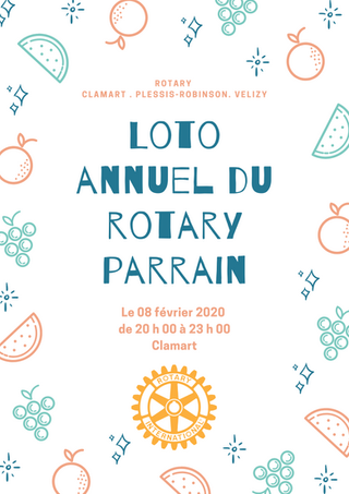 Loto annuel du Rotary parrain 08-02-2020