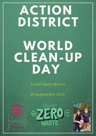 World Clean-Up Day - 19-09-2020