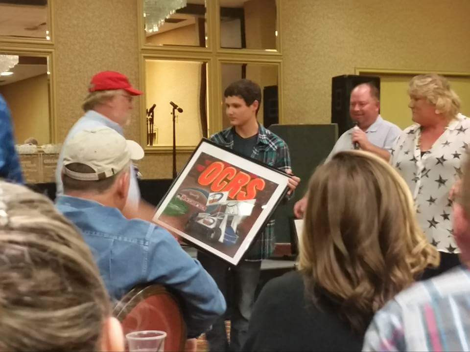 Joey Perry, 2015 Oil Capital Racing Series Banquet