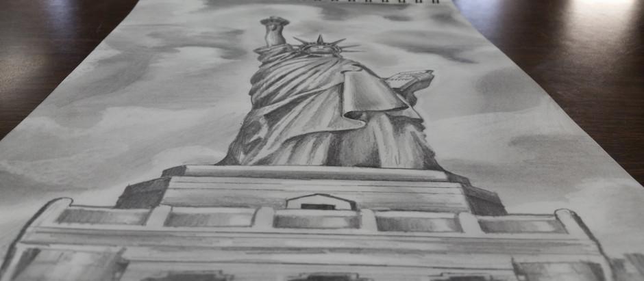First sketch of the AP-Art Semester!