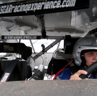 Driving a racecar for the first time!