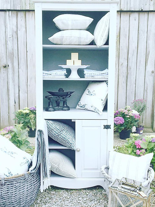 Cawsands Display Cabinet / Bookcase