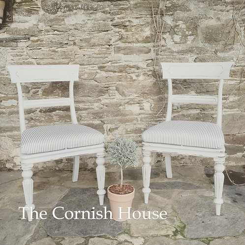 St Ives Antique Chairs - Pair