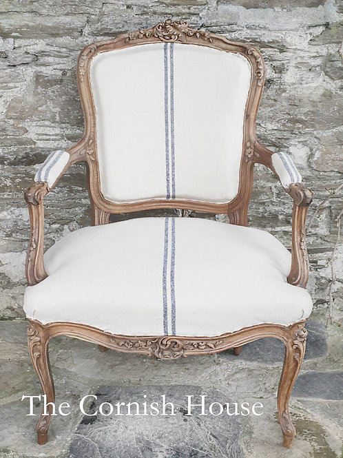Antique 17th century French Louis XV Fauteuil