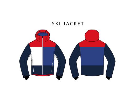 Ski Jacket - Free Fashion Design Vectors