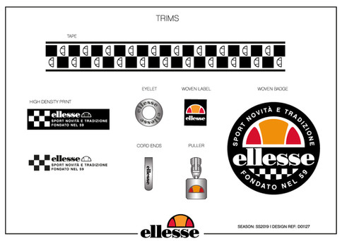 Ellesse Checkerboard Collection