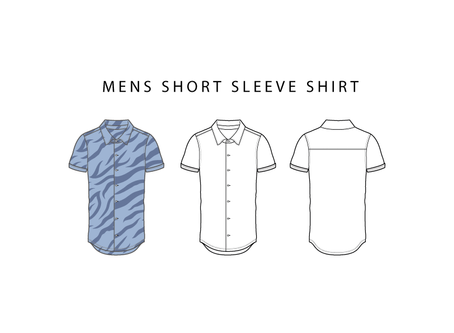 Short Sleeve Shirt - Free Shirt Vector
